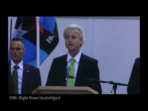 Geert Wilders speaks at the 9-11 Rally of Remembrance