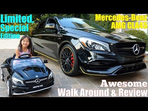 2019 Mercedes-Benz AMG CLA45 All Wheel Drive. Upgrade from CLA 250. Ride-On Power Wheels