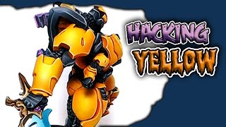 Painting Yellow is Secretly Easy - Airbrushing Hacks