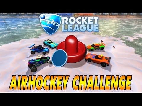 Rocket League - Airhockey Challenge! Community Challenges | Die PrimeBuddys