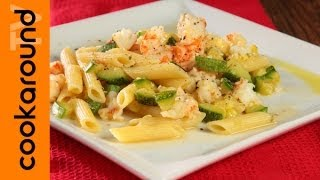 Pasta zucchine e gamberetti / Tutorial ricetta
