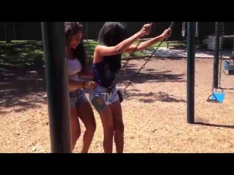 Wedgie on the Swing Prank