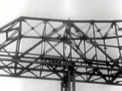 Building the San Francisco - Oakland Bay Bridge!