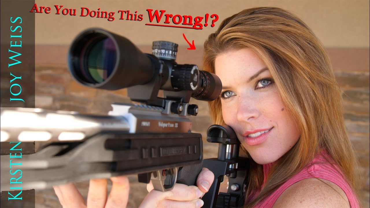 You're Doing This Wrong... Shooting Tip For Perfect Aim ...