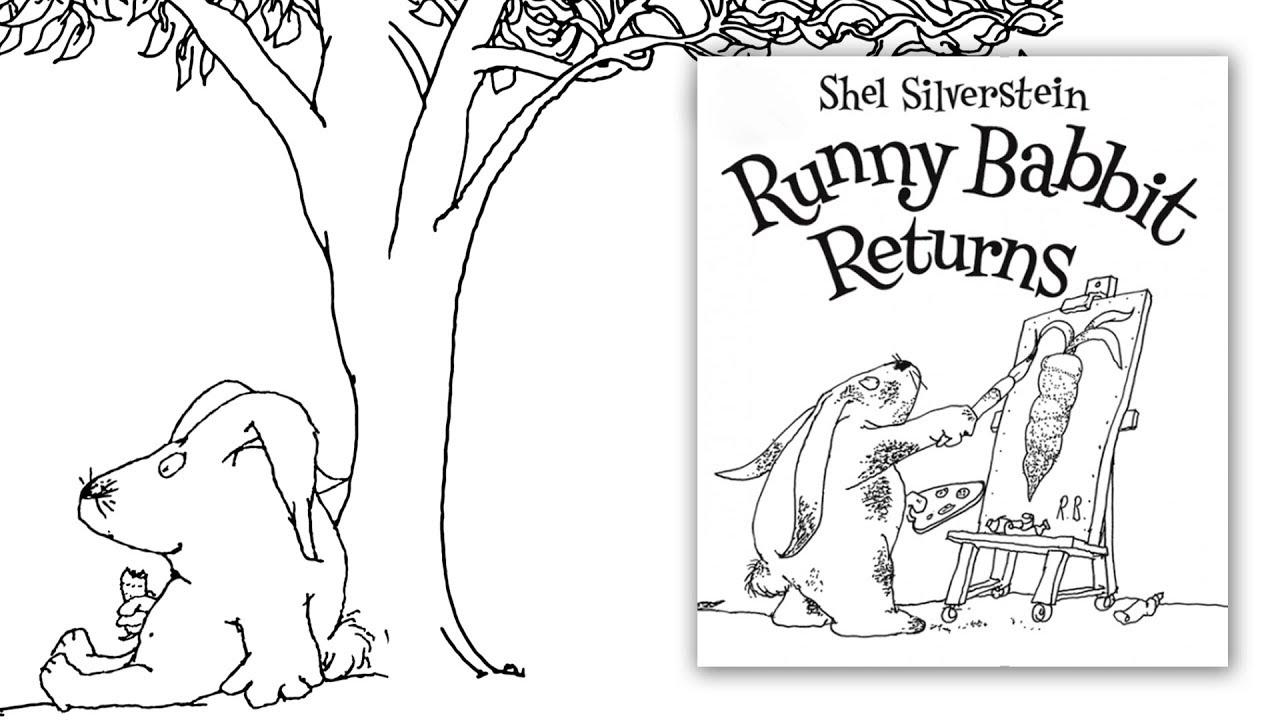Shel Silversteins Runny Babbit Returns Book Trailer Playful