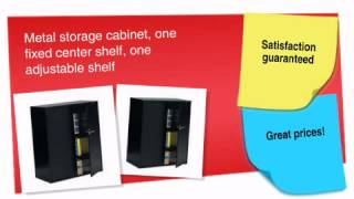 42h Metal Storage Cabinet - Ofconcepts.com