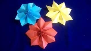 Как сделать звезду из бумаги на елку. DIY Christmas crafts: CHRISTMAS ORNAMENTS Paper Star