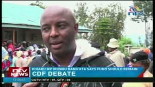 Kiharu MP Irungu Kang'ata supports move to retain CDF