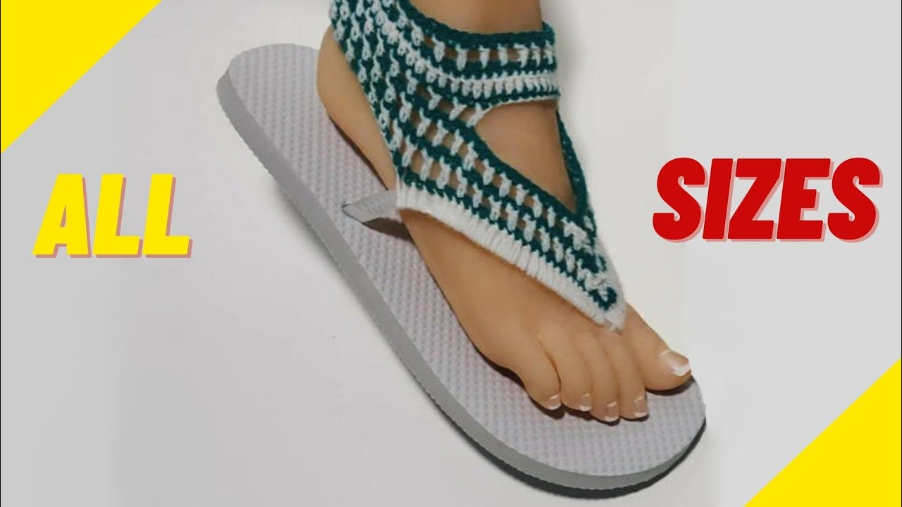 100% top quality many choices of sleek Crochet Sandals Using Flip Flop Soles