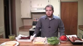 Clone Turkey Bacon And Avocado Sandwich