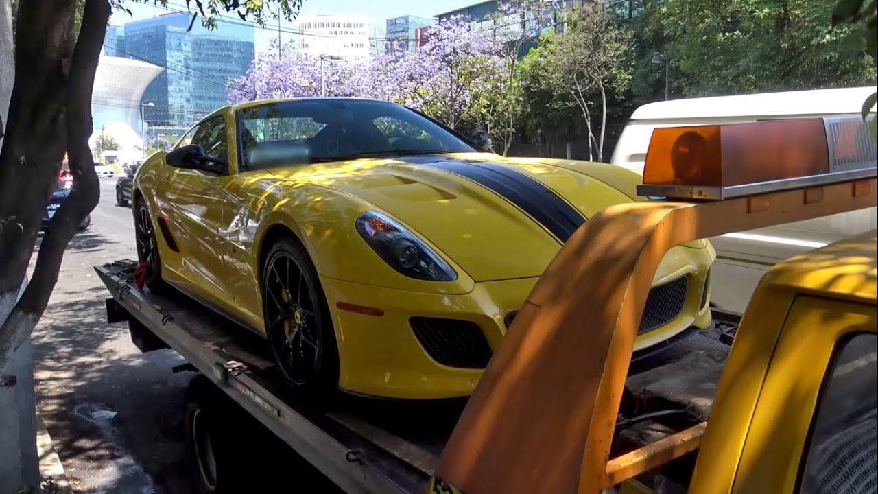 El único Ferrari 599 GTO amarillo de México | Uno de 599 😍