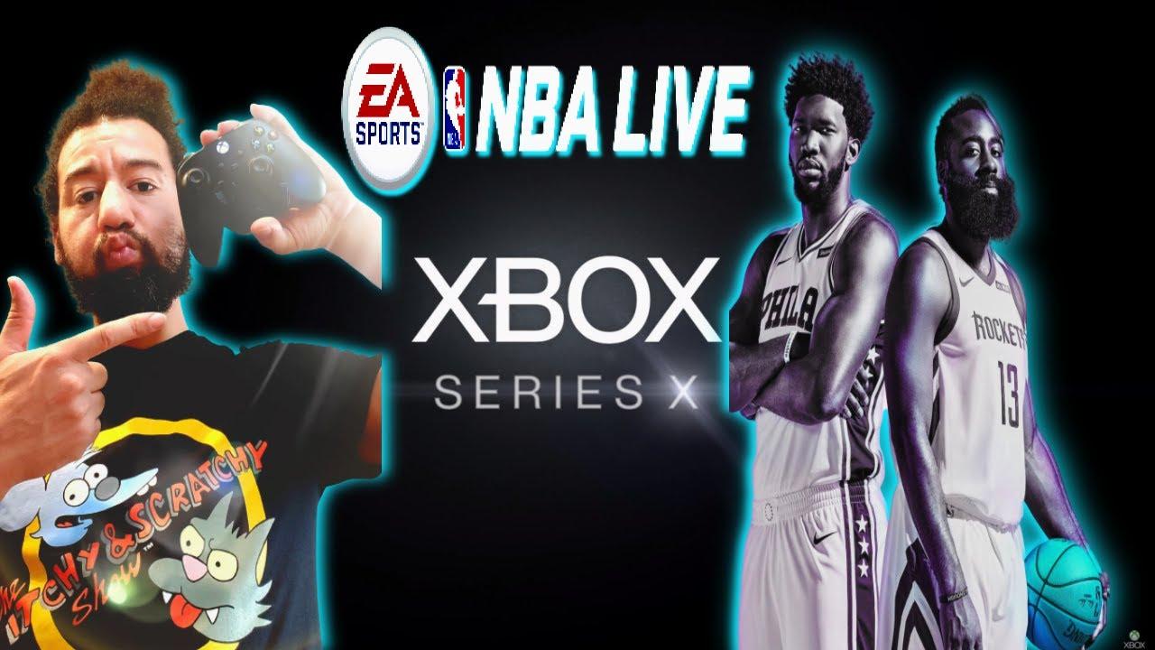 💯 NBA LIVE 19 SERIES X 3V3 GAME-PLAY  NBA LIVE 19 On A XBOX Series X  BAPE Glitch Clothes Talk #NBA