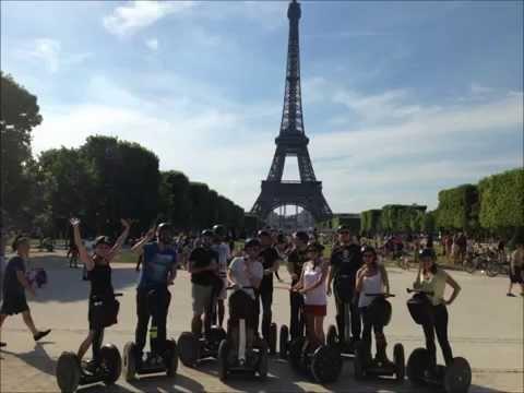 Une grande balade en gyropode dans Paris pour redécouvrir ses plus beaux monuments!!