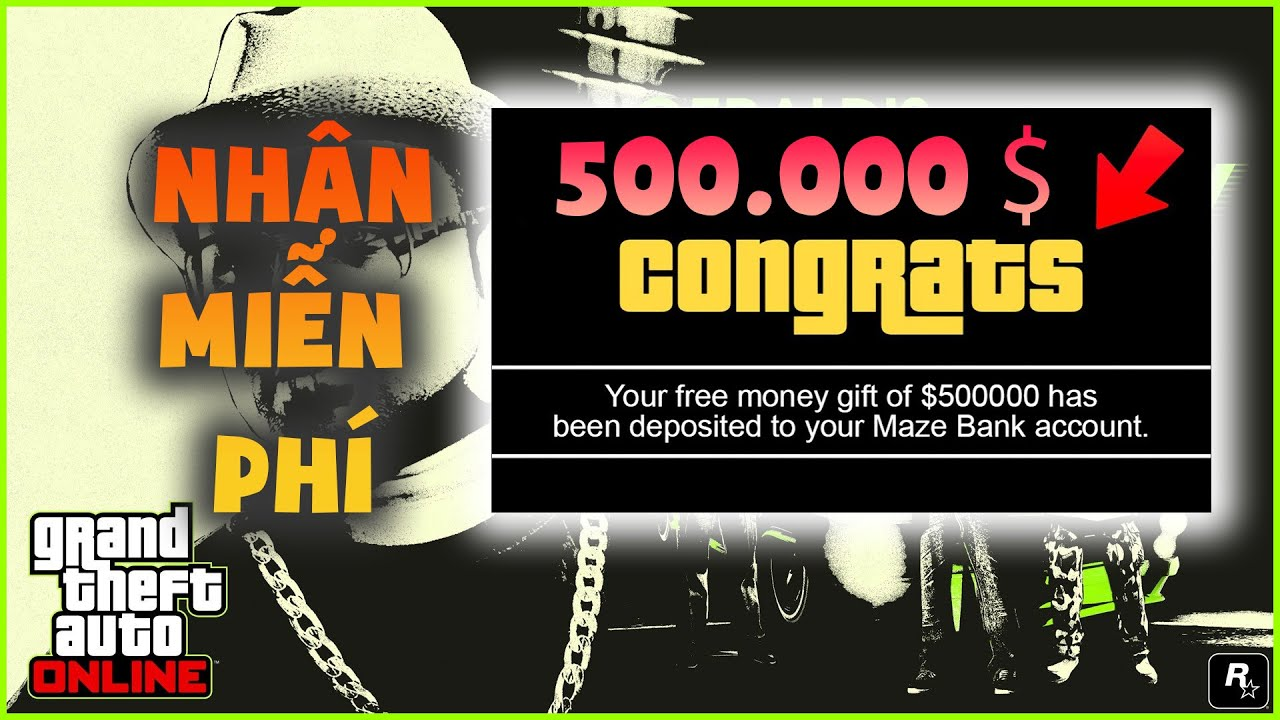 Hướng dẫn nhận $500,000 miễn phí GTA 5 Online – Bảo mật 2 lớp Rockstar Game – Epic 2020