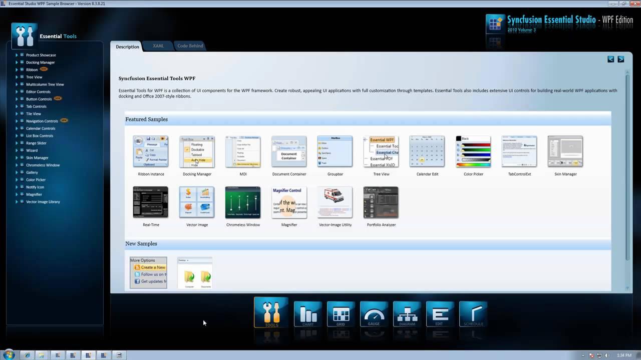 Syncfusion Essential Studio 2010 vol3 - WPF edition