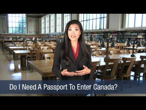Do I Need A Passport To Enter Canada?