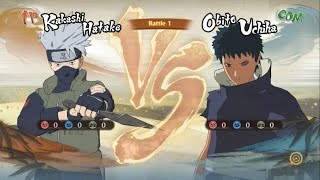 Kakasi Nanh Trắng Đối Đầu Obito Uchiha - Naruto Song Đấu