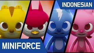 [10.17 MB] [Indonesian dub.] MiniForce S1 EP 01 : Pahlawan Baru