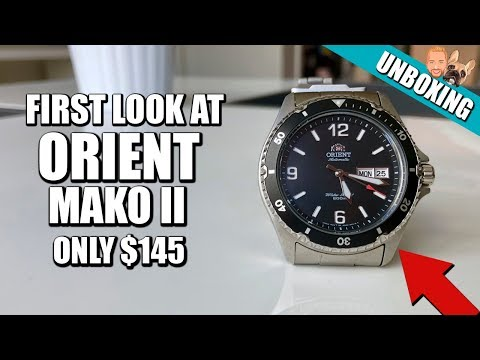 Orient Mako 2 - Unboxing and Initial Impressions - $145 Diver Watch