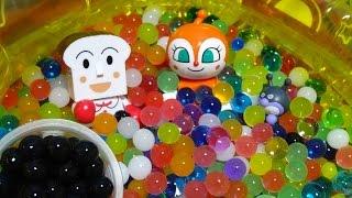 しょくぱんまん ドキンちゃん おもちゃ ぷよぷよボール ボールプール バイキンマン♡アンパンおねえさん♡ thumbnail