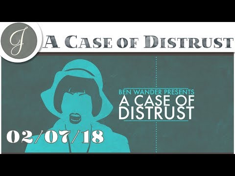 MURDER MYSTERY GAME ▶A Case of Distrust Livestream◀ Chat with the Developer - 2018-02-07