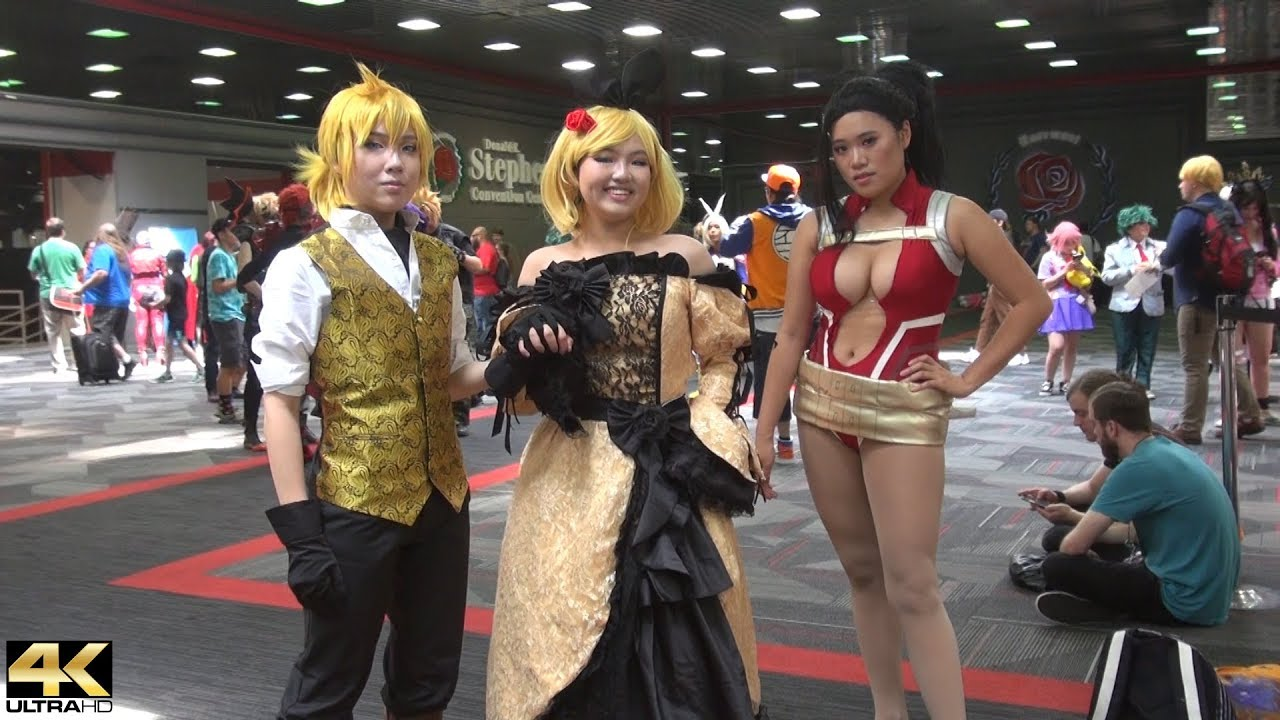 anime con 2019_2019 Anime Chicago Comic Con Cosplay and more - YouTube