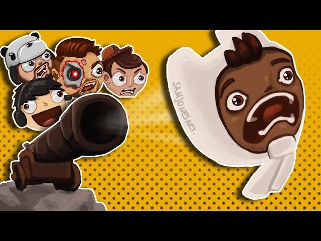 Golf It Funny Rage Moments - Pirates Practice, Super Saiyan Panda!