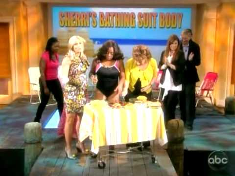 Sherri Shepherd Bathing Suit Body Reveal