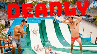 TAKING OVER WORLD'S MOST DANGEROUS WATER PARK!