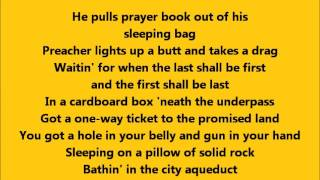 Bruce Springsteen - The Ghost of Tom Joad with Lyrics