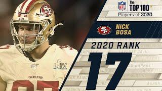 #17: Nick Bosa (DE, 49ers)   Top 100 NFL Players of 2020