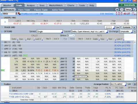 US-Options Trader - Webinar: Die praktische Umsetzung am Bsp. von Interactive Brokers