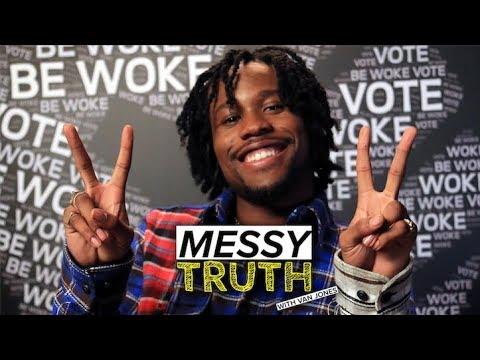 Shameik Moore on growing up black in America, hip hop & more | The Messy Truth w/ Van Jones