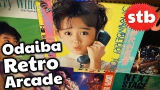 Odaiba, Japan Retro Arcade // Arin, Suzy & SoloTravelBlog