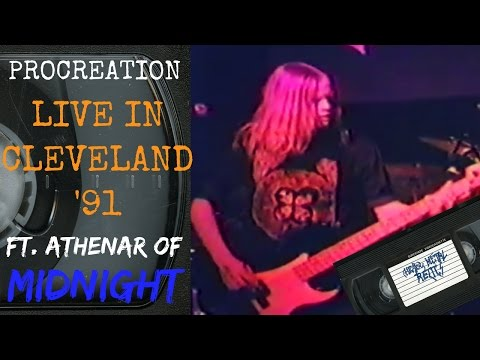Procreation Live in Cleveland OH January 5 1991 [Full Concert]