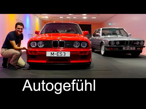 BMW Welt/World & Museum heritage Feature modern vs vintage -
