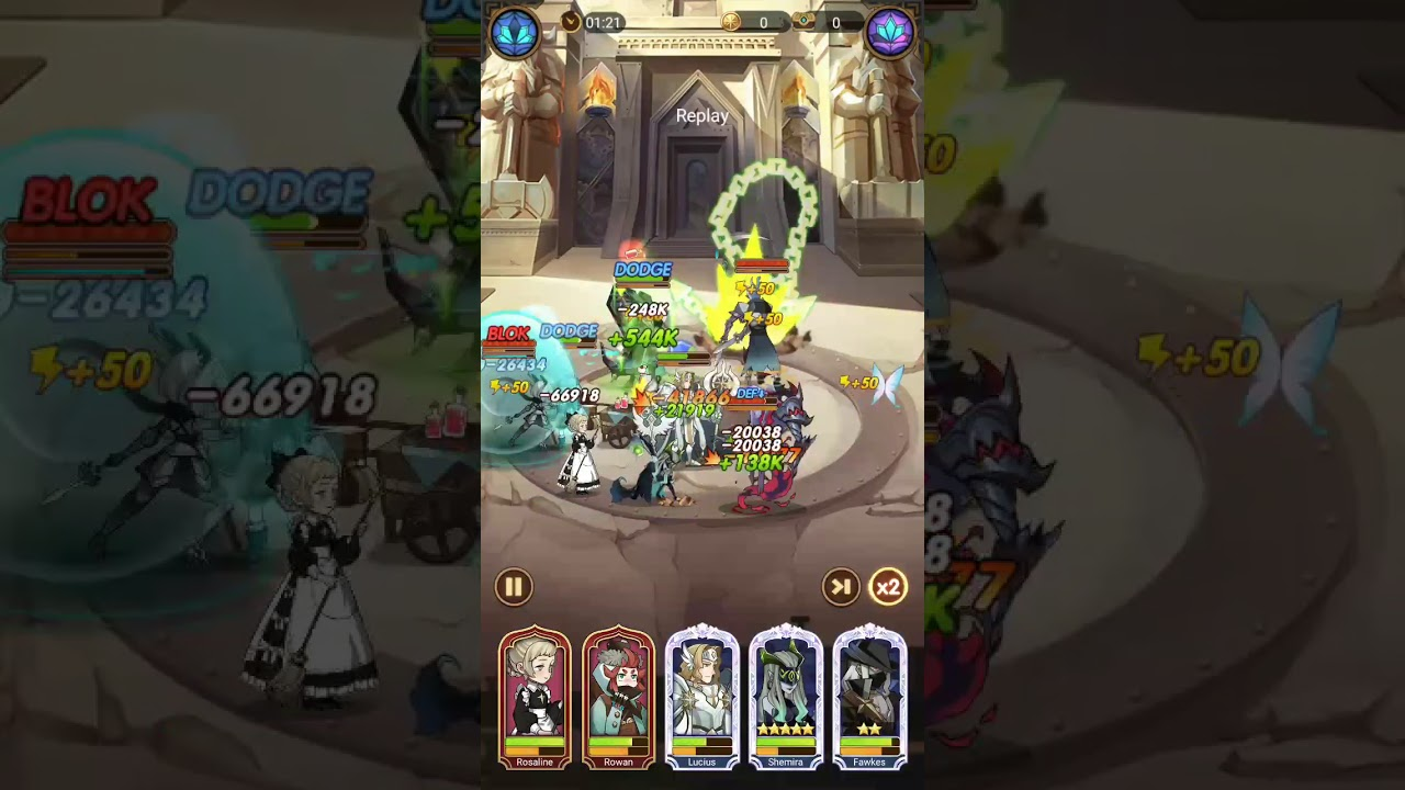 AFK Arena Stage 20-18 - YouTube
