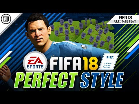 THE PERFECT STYLE!!! FORMATIONS + TACTICS! - FIFA 18 Ultimate Team
