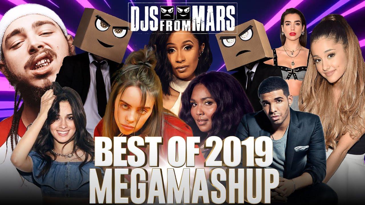 Djs From Mars - Best Of 2019 Megamashup - Rewind - 40 Songs in 5 Minutes