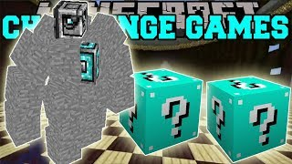 PopularMMOs Pat and Jen Minecraft_ DEVIL CHALLENGE GAMES - Lucky Block Mod - Modded Mini-Game