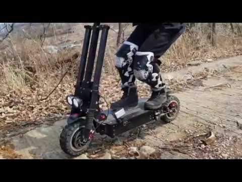 [투어리즘] 친환경 전동킥보드 여행자 아이카봇의 쿠루스 RS 오프로드 테스트 영상