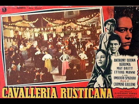 Cavalleria Rusticana    Film completo Full Movie rare italian version by Film&Clips