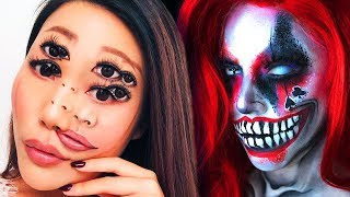 NO PHOTOSHOP! TOP 25 Halloween Makeup IDEAS & Tutorials Compilation 2018