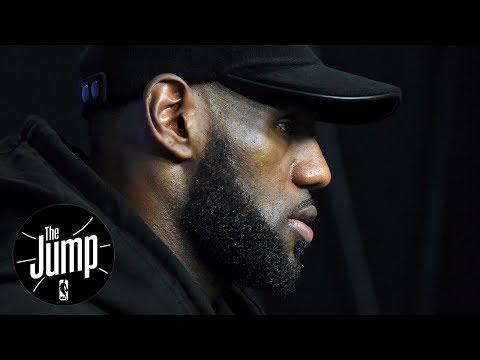 LeBron James Passes Michael Jordan On Social Causes   The Jump   ESPN