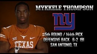 Highlights of Texas DB Mykkele Thompson [May 2, 2015]