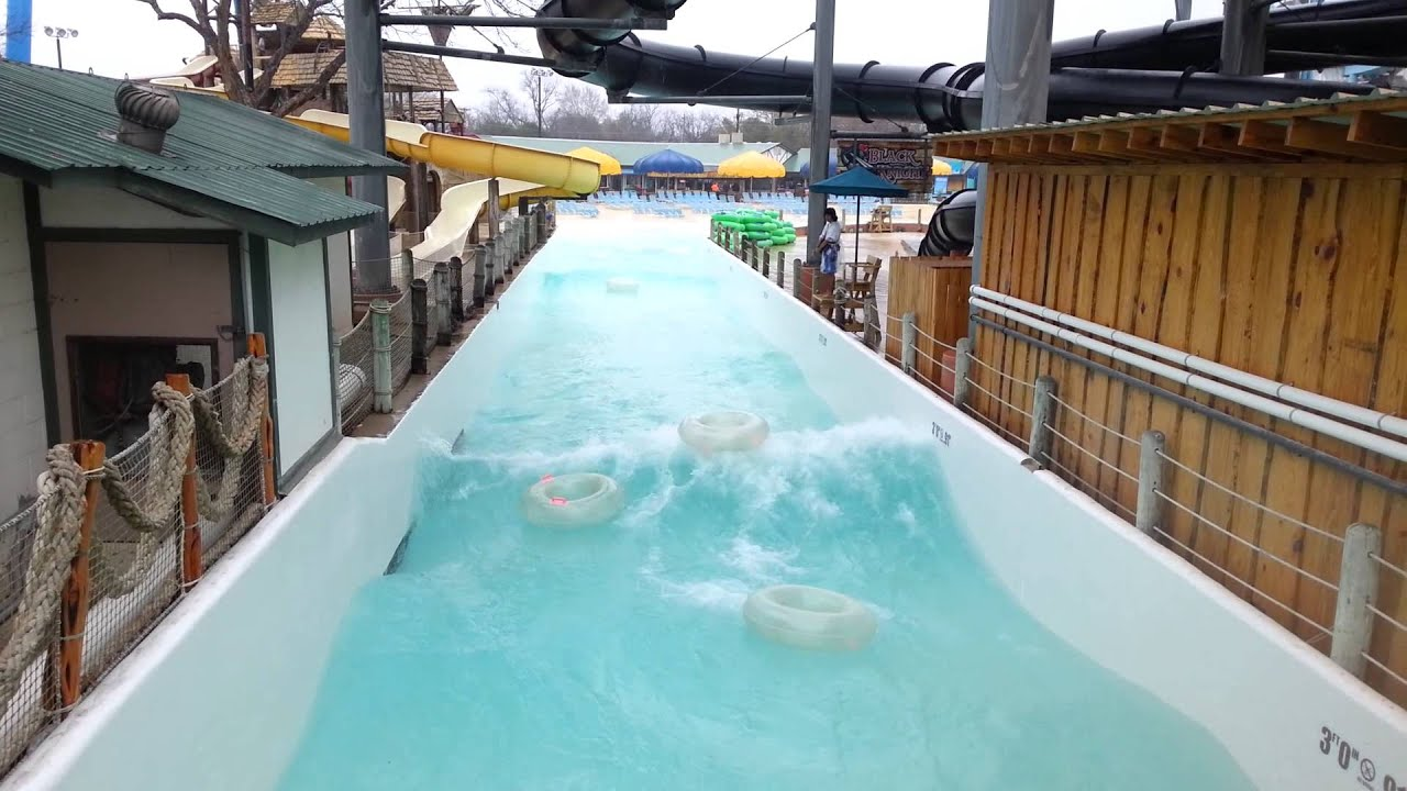 Ride The Torrent River At Schlitterbahn Waterpark In New