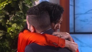 Katy Perry Surprises Orlando Shooting Victim -- Watch the Emotional Moment
