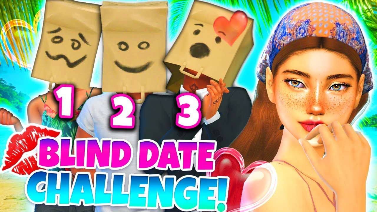 💋 BLIND DATE CHALLENGE! 🌴 *Tropical Edition!*