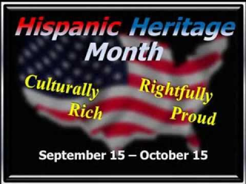 stylized ppt video for free hispanic heritage month graphics