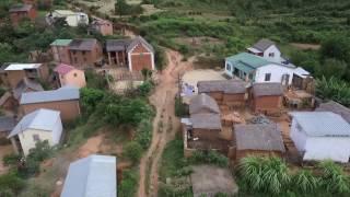 Antananarivo vu du ciel - Madagascar